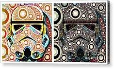 Psychedelic Binom Acrylic Print