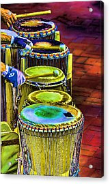 Psychedelic Drums Acrylic Print