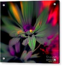 Psychedelic Acrylic Print