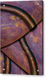 Acrylic Print featuring the photograph Psychedelic Pi by Paul Wear