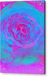 Psychedelic Series 1 Acrylic Print by Jane Biven