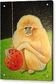 Psychic Monkey Acrylic Print