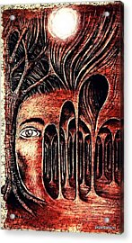 Psychological Labyrinth Acrylic Print by Paulo Zerbato