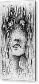 Psychotic Acrylic Print by Rachel Christine Nowicki