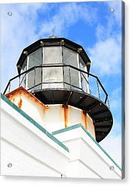 Pt Bonitas Lighthouse Ca Acrylic Print by Wingsdomain Art and Photography