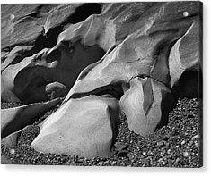 Pt. Lobos Rocks Acrylic Print
