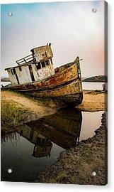 Pt. Reyes Shipwreck 1 Acrylic Print