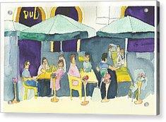 Pub In Harry Hjornes Plats Acrylic Print