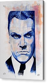 Public Enemy - Jimmy Cagney Acrylic Print by William Walts