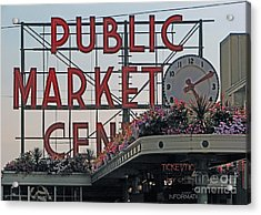 Public Market Acrylic Print by Chris Anderson