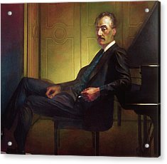 Puccini Acrylic Print by Michael Newberry