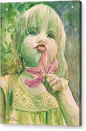 Pucker Acrylic Print