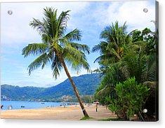 Phuket Patong Beach Acrylic Print