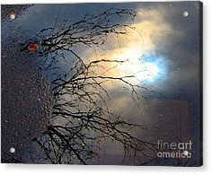 Puddle Art Acrylic Print