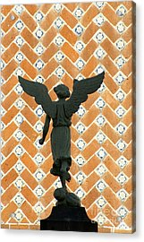 Acrylic Print featuring the photograph Puebla Angel Mexico by John  Mitchell