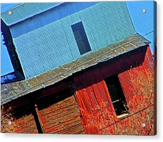 Pueblo Downtown--sweenys Feed Mill Acrylic Print by Lenore Senior