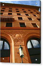 Pueblo Downtown Thatcher Building 2 Acrylic Print