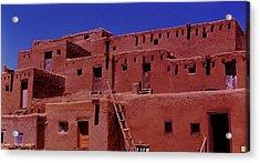 Pueblo Living Acrylic Print