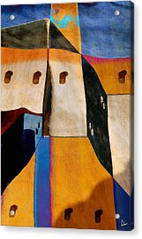Pueblo Number 1 Acrylic Print by Carol Leigh
