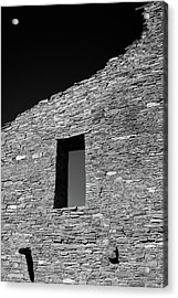 Pueblo Wall Acrylic Print by Joseph Smith