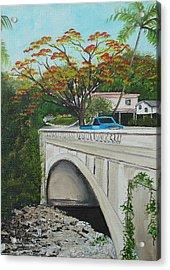 Puente En Adjuntas Acrylic Print