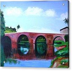 Puente Yayabo Acrylic Print