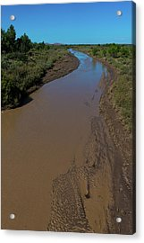 Puerco River Flows Acrylic Print