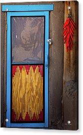 Puerta Con Chiles Acrylic Print