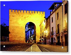 Acrylic Print featuring the photograph Puerta De Elvira by Fabrizio Troiani