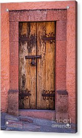 Puerta Vieja Acrylic Print