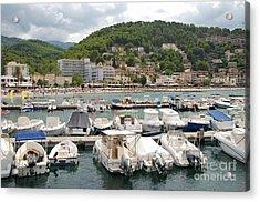 Puerto De Soller In Majorca Acrylic Print