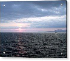 Puerto Vallarta Bay At Sunset Acrylic Print