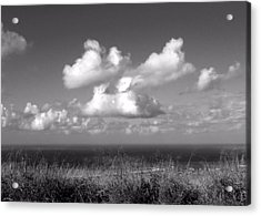 Puffy Clouds Acrylic Print