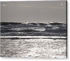 Acrylic Print featuring the photograph Puissance Oceane by Marc Philippe Joly