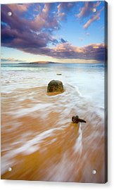 Pulled To The Sea Acrylic Print by Mike  Dawson