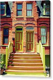 Pullman National Monument Row House Acrylic Print by Kyle Hanson