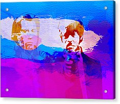 Pulp Fiction Acrylic Print by Naxart Studio