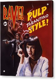 Pulp Fiction Acrylic Print by Tim  Scoggins