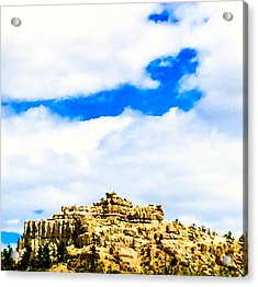 Pulpit Rock Acrylic Print by Dennis Wagner