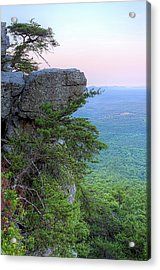 Pulpit Rock Mt Cheaha Acrylic Print by JC Findley