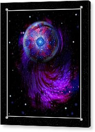 Pulsar At The Edge Of Space Acrylic Print