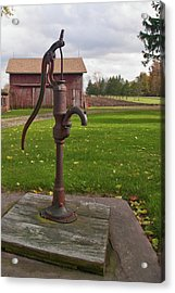 Acrylic Print featuring the photograph Pump 13951 by Guy Whiteley