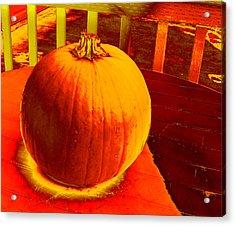 Pumpkin #4 Acrylic Print