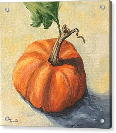 Pumpkin Everything Acrylic Print by Torrie Smiley