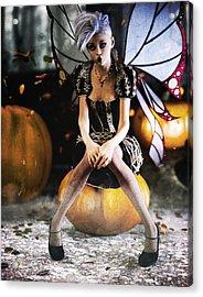 Pumpkin Fairy Acrylic Print