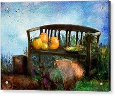 Pumpkin Harvest Respite Acrylic Print