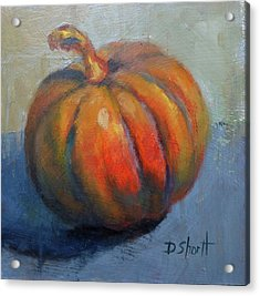 Pumpkin Pretty Acrylic Print