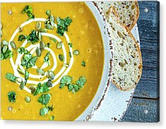 Pumpkin Soup For Dinner Acrylic Print