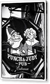 Punch And Judy Pub Acrylic Print by John Rizzuto