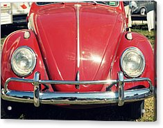 Punch Buggy Red Acrylic Print